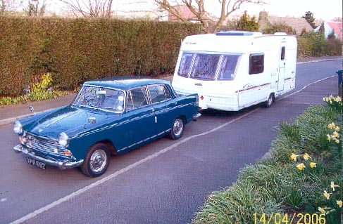 MGB Powered Morris Oxford
