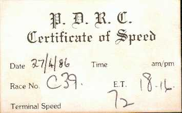 Timing slip