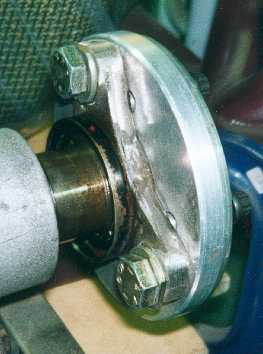 Propshaft adapter.