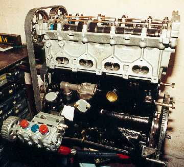 The built engine.