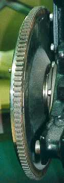 Rear of flywheel